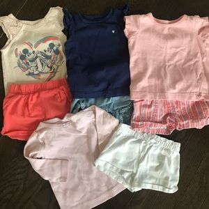 Lot of 4x girl outfits
